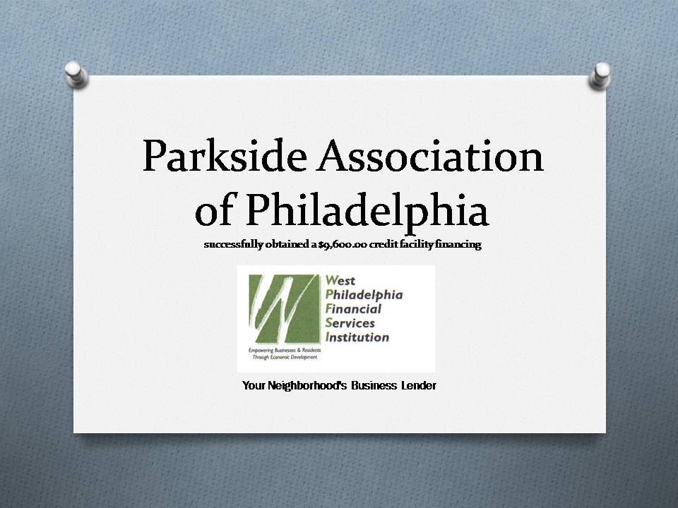 WPFSI Parkside Association of PhiladelphiaTOMBSTONE052714