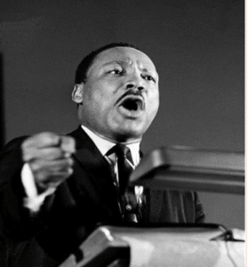 (Martin Luther King Jr.at his last public appearance on April 3, 1968. Source: NBC News)