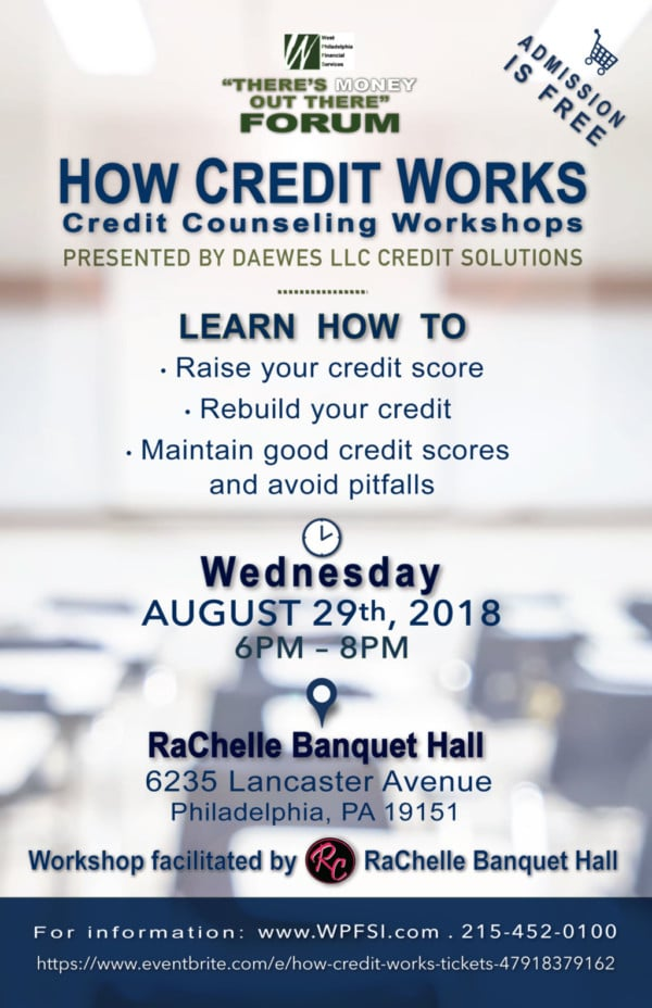 How Credit Works Free Credit Workshop