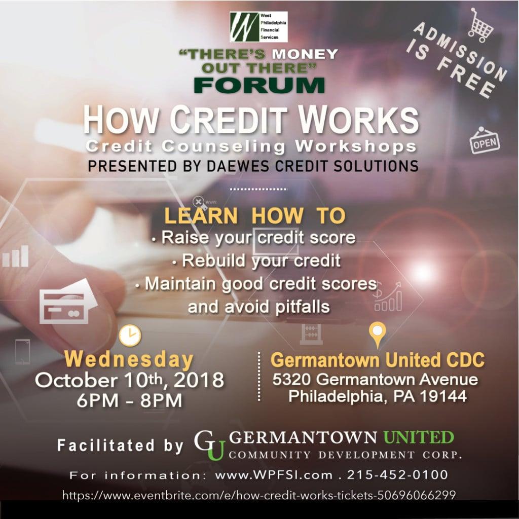 How Credit Works Free Credit Workshop