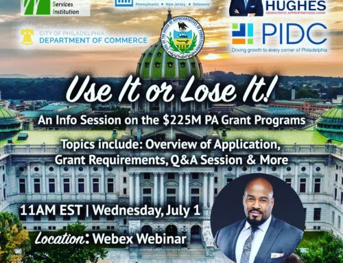Use It of Lose It! Info Session on $225M PA Grant Program